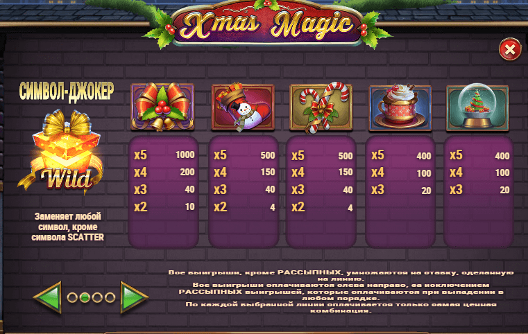 Xmas Magic (Play'n GO)